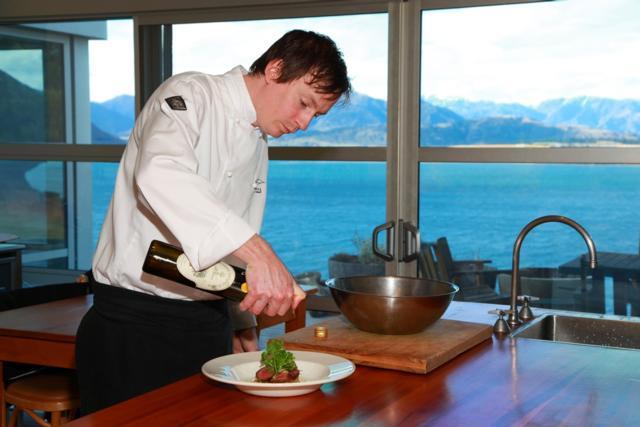 James_dressing_lamb_in_kitchen