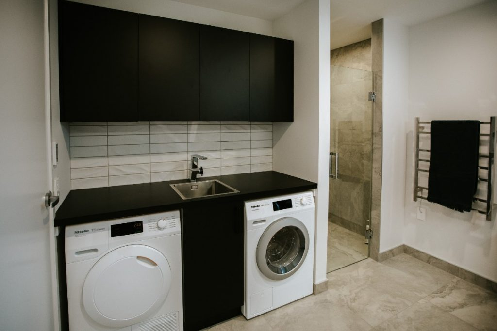 mudroom laundry and shower